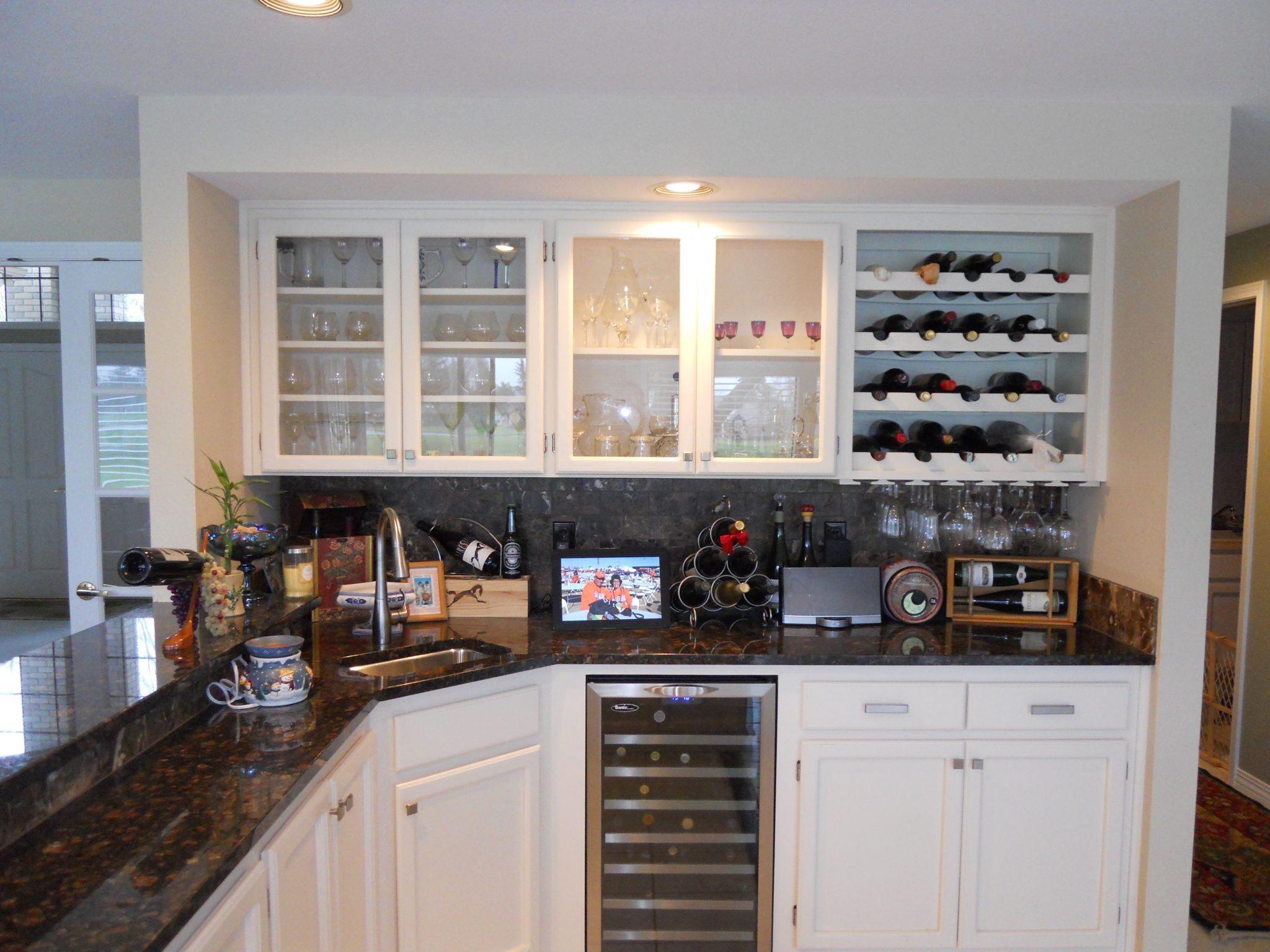 Custom Wet Bar or Wine Cellar