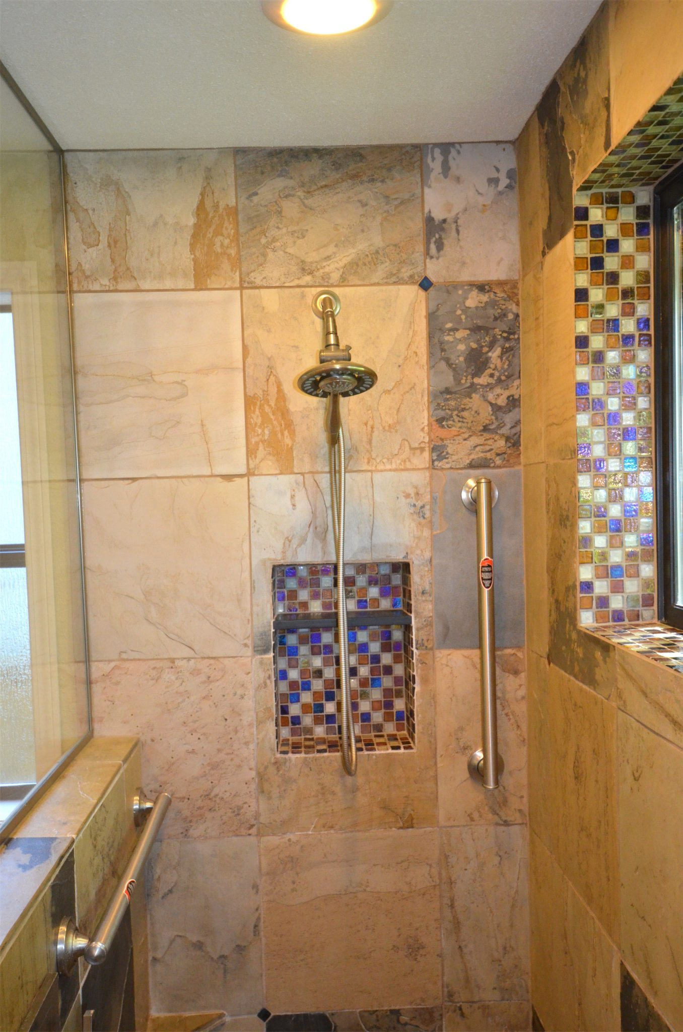 Walk In Tile Shower Dale 39 S Remodeling Salem Oregon Dale 39 S Remodeling Salem Oregon