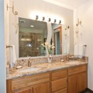 Vanity, Tub & Shower