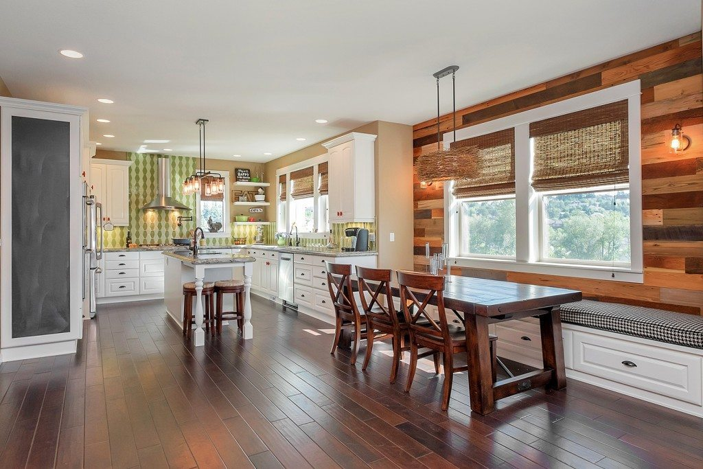 Award winning Open Kitchen And Living Space