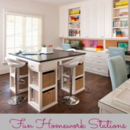 """A """"Cheat Sheet"""" for Back to School Home Organization"""