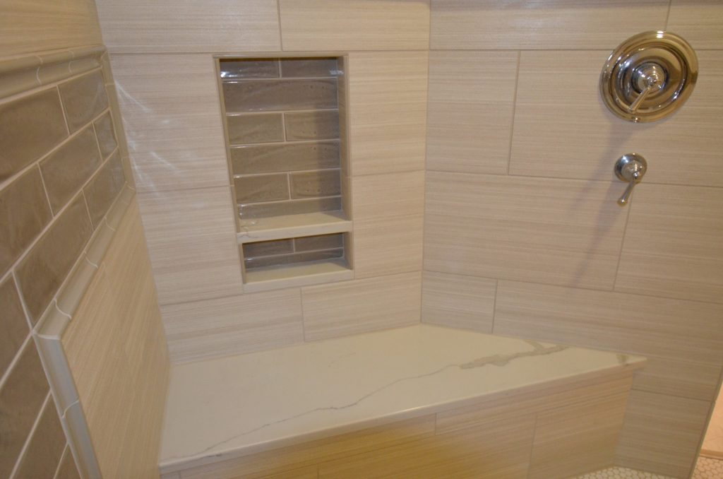 walkin shower bathroom remodel Keizer Oregon