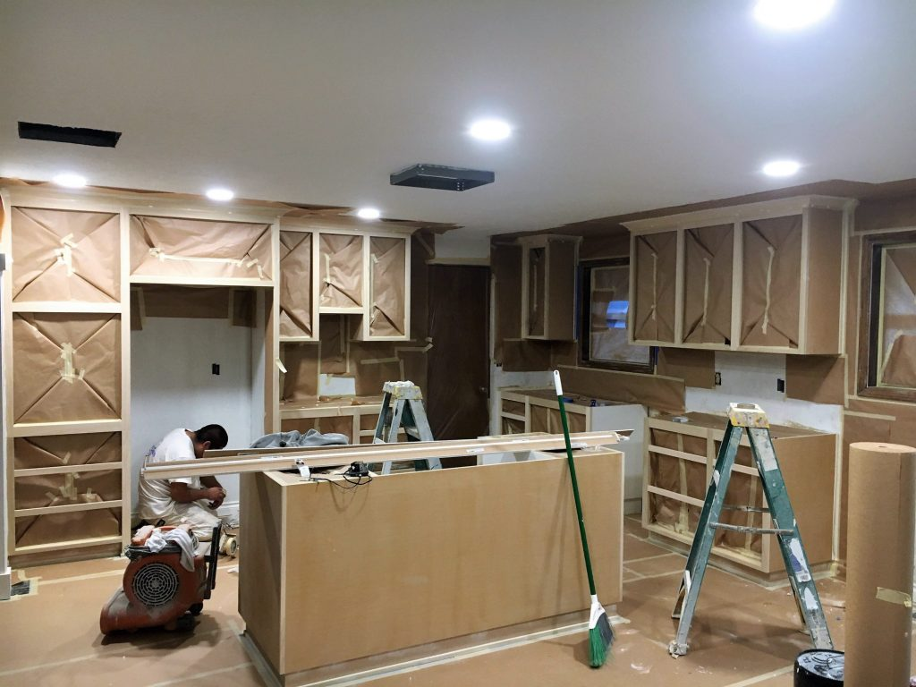 kitchen remodel prep