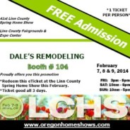 FREE TICKETS: Linn County Spring Home Show: April 11-13