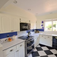 Blue and White Kitchen Remodel