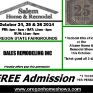 FREE TICKETS: SALEM Home & Remodel Show